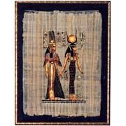 Папирусы в рамке из итальянского багета фото