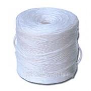 Шпагат полипропиленовый белый 1000 ТЕХ фото