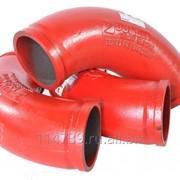 Угол(поворотное колено) 90 гр. для автобетононасоса JUNJIN фото