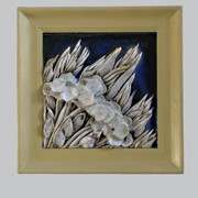 Декоративная керамическая картина фото