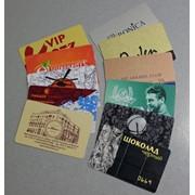 Пластиковые дисконтные карты фото