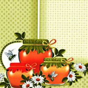 """Клеенка столовая на тканой основе арт.8-3 """"Медок"""", оливковый, 1,3х25м г. фото"""