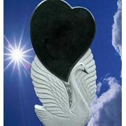 Памятники гранитные, ритуальные памятники, надгробия, цветники, цоколь. фото