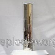 Двустенная дымоходная труба нерж/нерж 1м толщина 0,6мм ф180х250 фото