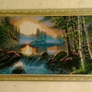 Картины вышитые бисером фото