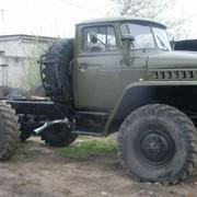 Автомобиль военный УРАЛ-375 фото