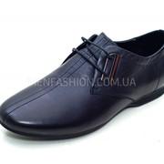 Туфли мужские CARLO DELARI чёрного цвета 050 фото