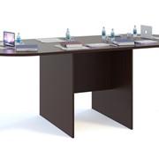 Стол для переговоров СПР-05+СПР-03 Венге фото