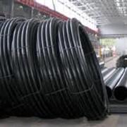 Трубопроводы из полиэтиленовых труб. фото