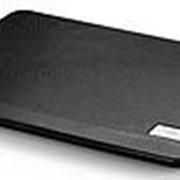 """Подставка для ноутбука Deepcool N17 (N17BLACK) 14""""330x250x25мм 21дБ 1xUSB 1x 140ммFAN 465г черный фото"""