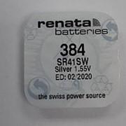 Батарейка Renata R384 (SR41SW) фото