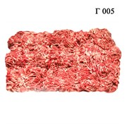 Мясо говяжье. Фарш средней жирности. фото