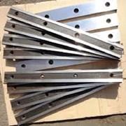 Нож для гильотины НГ13 670х60х24 (ф18)  фото