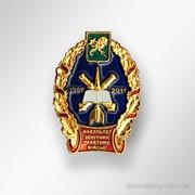Юбилейный знак Факультета зенитных ракетных войск DIC-0781 фото