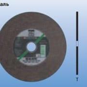 Шлифовально-отрезные круги для стац. применения Производительная линия SG-ELASTIC, RAIL Сталь фото