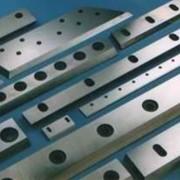 Изготовление ножей для дробилок, шредеров, агломераторов по чертежам фото