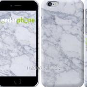Чехол на iPhone 6 Голубой мрамор 3062c-45 фото