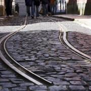 Трамвайные рельсы Т 62 фото