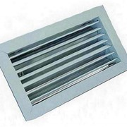 Решетка вентиляционная алюминиевая РАГ 150х1500 фото