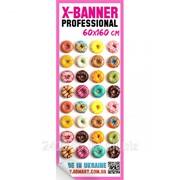 Полотно к X-Banner Professional 60x160 см фото