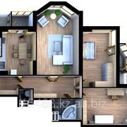 Квартира трехкомнатная фото