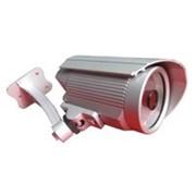 Цветная цкамера 1/3 , 0,5 Люкс, 480ТВЛ, 12 В, варифок-ный объектив 4~9мм, всепогодная, подсветка до 20м фото