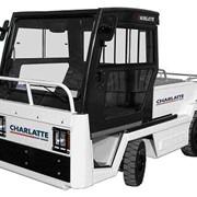 Электрические багажные тягачи Charlatte (Франция) фото