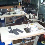 Обработка края изделия одежды на швейном оборудовании Juki фото