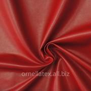 Экокожа для пошива одежды красный цвет фото