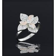 Серебряное кольцо Семицветик фото