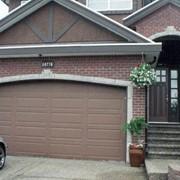 Ворота автоматические гаражные. фото