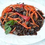 Древесный гриб муэр по-корейски фото
