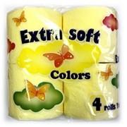 Туалетная бумага Extra Soft Colors фото