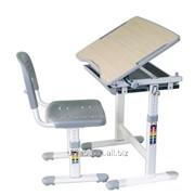 Детский комплект парта и стул-трансформеры Piccolino Grey фото