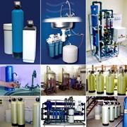 Подключение, установка, монтаж системы очистки воды фото