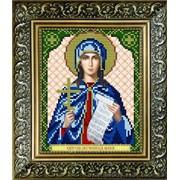 """Рисунок на ткани для вышивания бисером """"Св.Мученица Юлия"""" VIA5032 фото"""