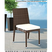 Мебель для баз отдыха, стул Алба - Модерн - искусственный ротанг - для сада, дома, гостиницы, ресторана фото