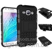Чехол бронированный (бампер) для Samsung Galaxy J1 Duos SM-J100 J100F J100H 4630 фото