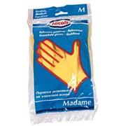 МАДАМ перчатки резиновые . размер L фото