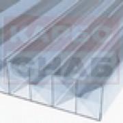 """Сотовый поликарбонат PoliCarb прозрачный """"Premium"""" 6000х2100 мм, 16 мм с односторонней защитой от УФ, гарантия 10 лет фото"""
