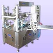 Автомат модель М-25-S по упаковке жидких, пастообразных, сухих продуктов в пакеты Дой Пак фото