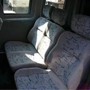Установка пассажирских сидений в микроавтобусы фото