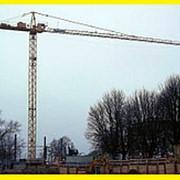 Услуги башенного крана КБ-56.6 метров в Краснодаре фото