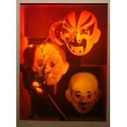 Голограмма художественная Маски с лорнетом фото