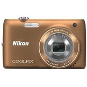 Цифровой фотоаппарат Nikon Coolpix S4150 Bronze (VNA123E1) фото