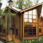 Проекты загородных деревянных домов фото