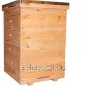 Улей 12-рамочный (1 корпус гнездовой, 2 магазинных) фото