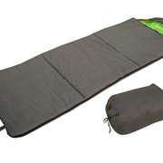 """Спальный мешок одеяло (холлофайбер) """"Helios"""" Батыр, зелёный фото"""