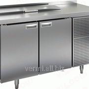 Стол холодильный для салатов саладетта Hicold SL2-11GN 1/6 фото