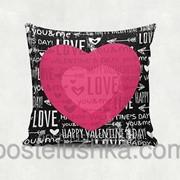 Подушка декоративная Heart 35х35 cм 02 фото